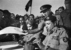 #General Niazi of Pakistan Prepares to Sign the Instrument of Surrender Ending the Bangladesh Liberation War 1971 [1000x704] #history #retro #vintage #dh #HistoryPorn http://ift.tt/2h8kln8