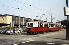 Rail Europe, Light Rail, Commercial Vehicle, Austria, Vintage Photos, Street View, Vienna, Destinations, History