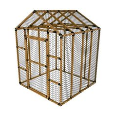 8x8 ez frame basic chicken run kit