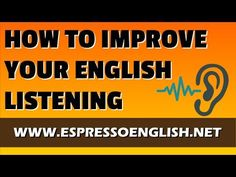 """Looking for a shweet Education video to play? This entertaining piece titled, """"How to Improve Your English Listening"""" will leave you wanting more. English Tips, Learn English, English English, Woodward English, Listening English, Speak English Fluently, Learn Hebrew, Improve Your English, Hebrew Words"""