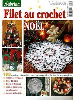 Sabrina Filet au crochet Noel - Muscaria Amanita - Picasa Web Albums...FREE BOOK AND DIAGRAMS!!