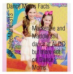 Dance Mom Fact Number 1                        Credit @KayleeMarie1313