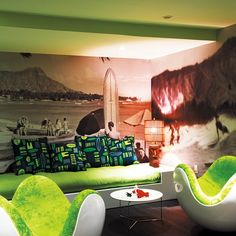 http://housetohome.media  lime green room