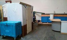 Housing for upwell incubators
