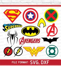 Super Heroes SVG Files Super Hero Cricut Cut File Vinyl | Etsy Free Silhouette Files, Silhouette Studio, Cricut Svg Files Free, Toddler Boy Gifts, Superhero Room, Monogram Alphabet, Scroll Saw Patterns, Vinyl Cutter, Cricut Creations