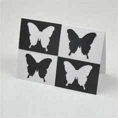 Black & white cards for baby
