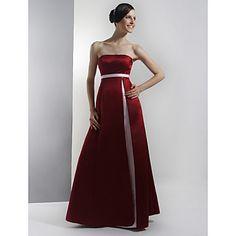 BRIGITA - Vestido de Fiesta de boda o de Dama de honor de Satén - EUR € 56.09