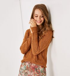 French Fashion for Women Jumpers For Women, French Fashion, Pulls, Cable Knit, Perfect Fit, Winter Fashion, Turtle Neck, Fancy, Pullover