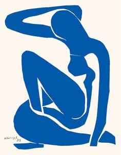 Blue Nude I Art Print by Henri Matisse at King & McGaw