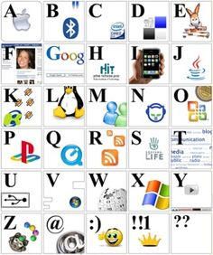 Blended learning alphabet and model for school