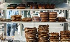 Koulouri, a sesame-covered bread that makes a popular snack in Athens