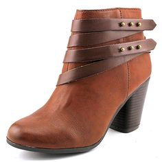 Material Girl Mini Round Toe Synthetic Ankle Boot >>> Click image to review more details.
