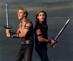 Young Hercules tv series featured Ryan Gosling as Young Hercules and Dean O'Gorman as his best friend, Iolaus. Dean sure grew up. When he was cast as Fili....this show was the first thing that came to mind, I watched every episode!