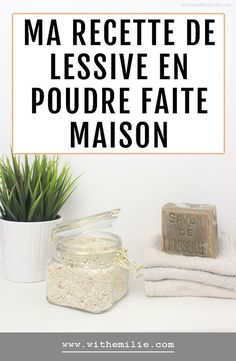 My homemade powdered laundry recipe in 10 minutes Green Cleaning, House Cleaning Tips, Cleaning Hacks, Dishwasher Detergent, Clean Dishwasher, Meeting Room Booking System, Zero Waste Home, Beauty Games, Natural Lifestyle