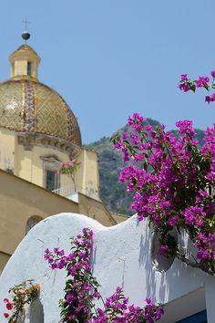 #Positano #flower #Italy