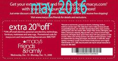 Macy's Coupons Ends of Coupon Promo Codes JUNE 2020 ! Looking for Macy's coupon and promotional code? Goodshop's coupon specialists re. Free Printable Coupons, Free Printables, Dollar General Couponing, Jcpenney Coupons, Coupons For Boyfriend, Coupon Stockpile, Grocery Coupons, Mcdonalds Coupons, Pizza Coupons