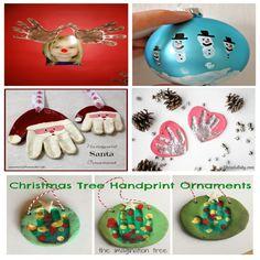 manualidades-navidad-niños Toy Craft, Craft Box, Winter Activities, Toddler Activities, Paper Toys, Paper Crafts, Hand Print Tree, Christmas Bulbs, Crafts For Kids