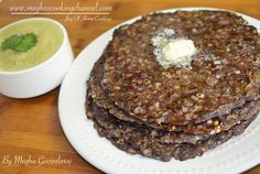 """Ragi Rotti is a classic breakfast recipe from the state of Karnataka. It is made using Ragi flour also know as red millet flour. """"Ragi Rotti"""" means Ragi Pancake in the native language.  It is very simple to prepare & gluten free. This nutritious & tasty Rotti's are preferred by kids to older people."""