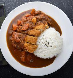 I Love Food, Good Food, Yummy Food, Chicken Katsu Curry Recipes, Recipe Chicken, Chicken Recipes, Asian Recipes, Healthy Recipes, Easy Japanese Recipes