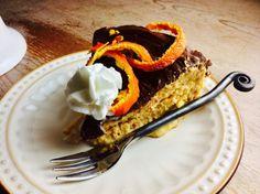 Chocolate Glazed Citrus Cheesecake