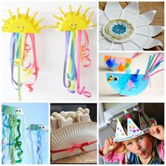 Over 25 Paper Plate Crafts - lots of varied ideas to keep you and the kids busy! From Paper Plate Weaving, to Paper Plate Crowns and Weebly Wobblies. Watch the video for extra info!