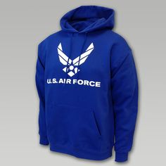 Air Force Wings Basic Hooded Sweatshirt