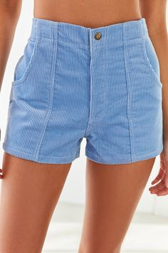 Slide View: 2: Op For UO High-Rise Corduroy Short