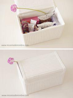 Mi cesta de mimbre | DIY: Una cesta con chucherías para mamá. | http://www.micestademimbre.com
