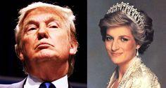 Donald Trump, Princess Diana - Flickr Gage Skidmore/Royal Family portrait