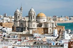 Cadiz, Spain. I lived in a little town (Puerto de Santa Maria) very close to Cadiz and visited it often.