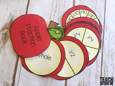 Look for some apple math activities for the Fall season? Try out this apple fraction activity with a fraction book and a fraction spin game! Fraction Activities, Apple Activities, Alphabet Activities, Book Activities, Fractions Worksheets, Teaching Fractions, Math Fractions, Dividing Fractions, Equivalent Fractions