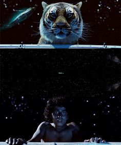 """Life of Pi... """"Even when God seemed to have abandoned me, he was watching. Even when he seemed indifferent to my suffering, he was watching. And when I was beyond all hope of saving, he gave me rest. Then he gave me a sign to continue my journey."""""""