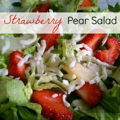 strawberry pear salad