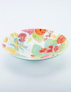 TROPICAL uppläggningsfat multi | Servingplatters/bowl | Ceramic/glass | Glas & Porslin | Inredning | INDISKA Shop Online