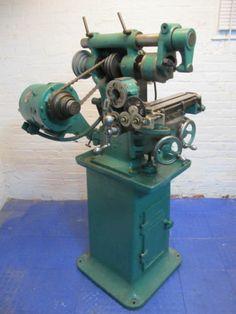 Burke Horizontal Vertical Milling Machine | eBay