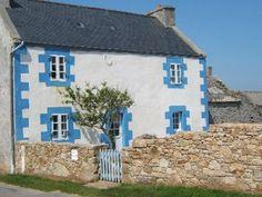 Maison typique de l'Ile d'Ouessant