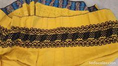 Antigüedades: TRAJE REGIONAL FALDA PICAO - Foto 10 - 91960087