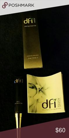 dfi Aging VIOX Eye cream gel dfi Aging  VIOX Eye cream gel - hypoallergenic, not tested on animals. Proven for anti aging, absorbs free radicals, diminishes appearance of lines, crow's feet, dark circles and sagginess. It tones and energizes skin. dfi Aging  Makeup