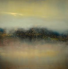 Buy Blue Lagoon, an Oil Painting on Other, by Maurice Sapiro from United States, For sale, Price is $3270, Size is 24 x 24 x 0.1 in.