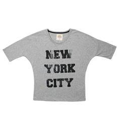 Tee-shirt Gris ♥ (taille: 14 ans) pour 19,99 euros