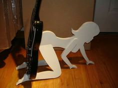 Classy guitar stand.