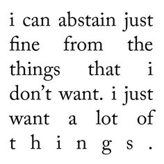 abstain.