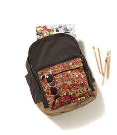 FEED Backpack with Liberty floral print is perfect for the one who loves a little pattern.