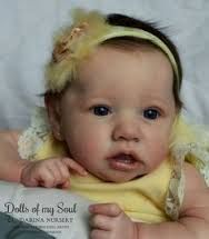Resultado de imagem para bebe reborn molde saskia