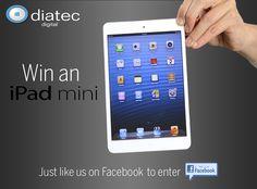 Win an iPad Mini - Competitions. Facebook Competition, Ipad Mini, Ireland, Irish, Digital, Free, Irish Language