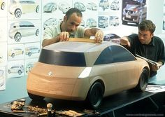 OG | 2002 Renault Megane MK2 | Early third-scale clay model