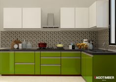 23 best L shaped Modular Kitchen images on Pinterest | Interior ...