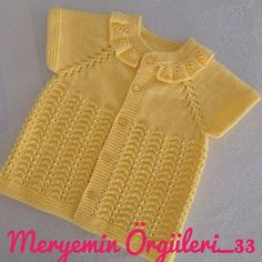 No photo description available. Girls Sweaters, Baby Sweaters, Kids Girls, Baby Kids, Crochet Baby Jacket, Hoodie Pattern, Baby Vest, Baby Knitting, Knitting Patterns