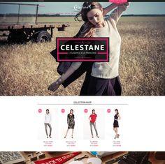 Celestane.com créa site internet et logo Webdesigner Freelance Paris et Île de France