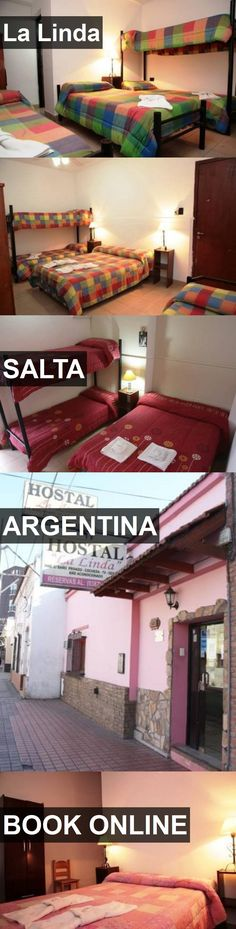 Hotel La Linda in Salta, Argentina. For more information, photos, reviews and best prices please follow the link. #Argentina #Salta #LaLinda #hotel #travel #vacation